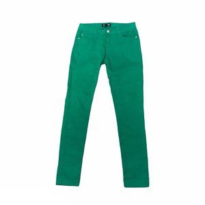 Forever 21 Green Skinny Jeans Size 27